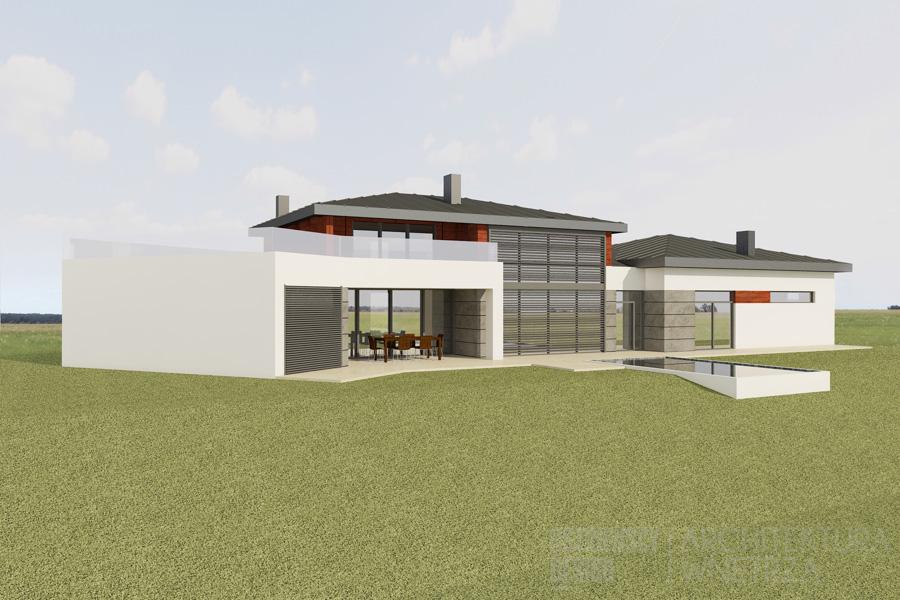 architektura dom jednorodzinny korbielów projekt architektury 1