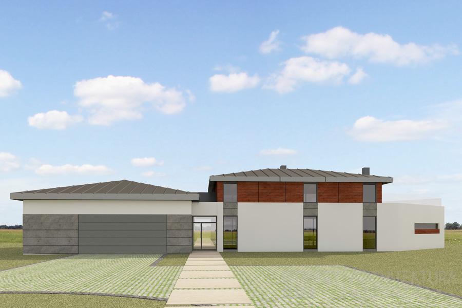 architektura dom jednorodzinny korbielów projekt architektury 2