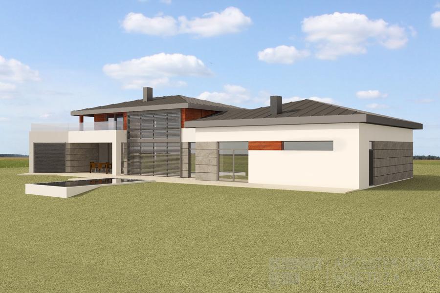 architektura dom jednorodzinny korbielów projekt architektury 3