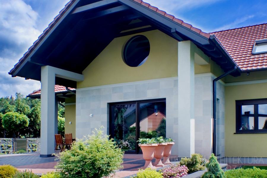 architekura dom jednorodzinny mosina realizacja 7