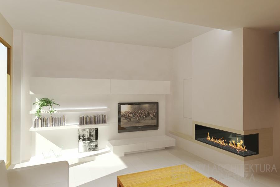 projekt wnętrz dom jednorodzinny luboń projekt 12