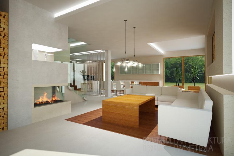 projekt wnętrz dom jednorodzinny luboń projekt 5