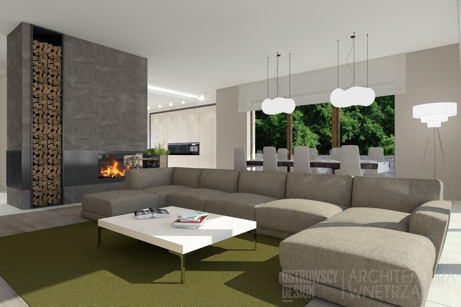 projekt wnętrz dom jednorodzinny pod poznaniem projekt 3
