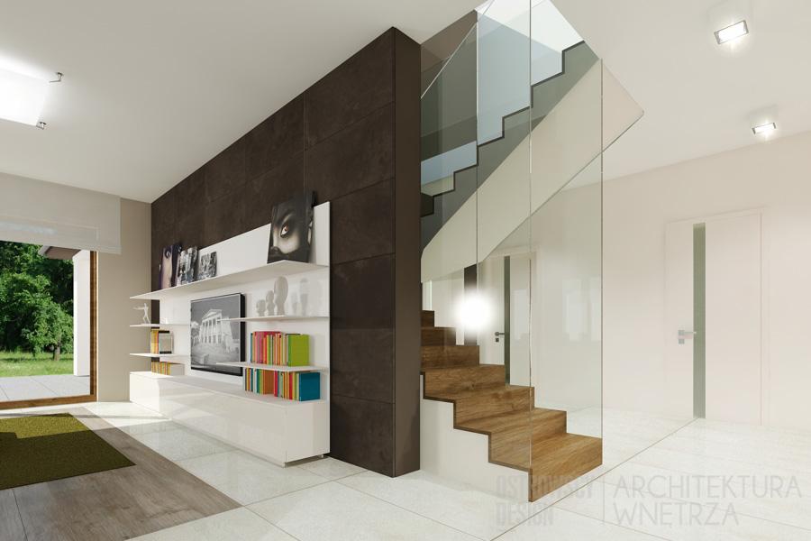 projekt wnętrz dom jednorodzinny pod poznaniem projekt 5