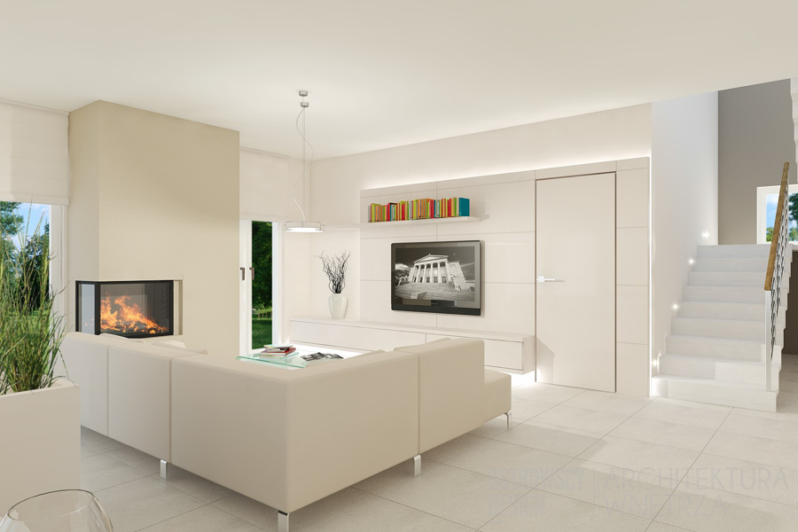 projekt wnętrz dom jednorodzinny skrzynki projekt 4