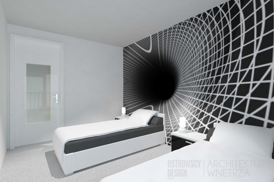 projekt wnętrz mieszkanie poznań room66 projekt 9