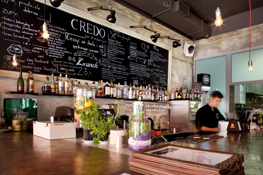 projekt wnętrz restauracja poznań credo realizacja 6