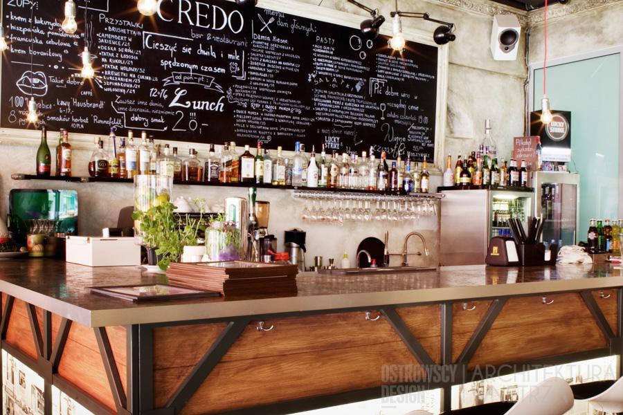 projekt wnętrz restauracja poznań credo realizacja 7