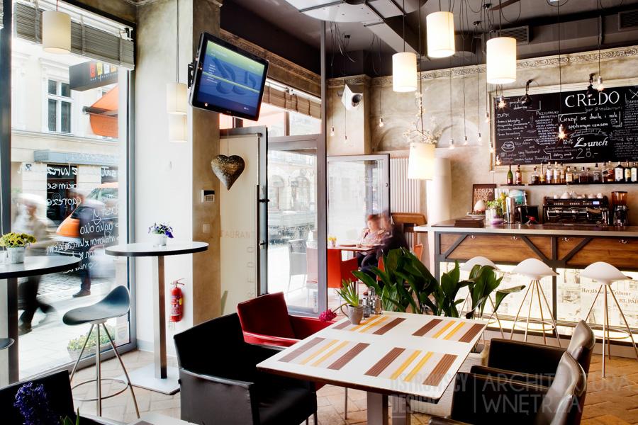 projekt wnętrz restauracja poznań credo realizacja 9