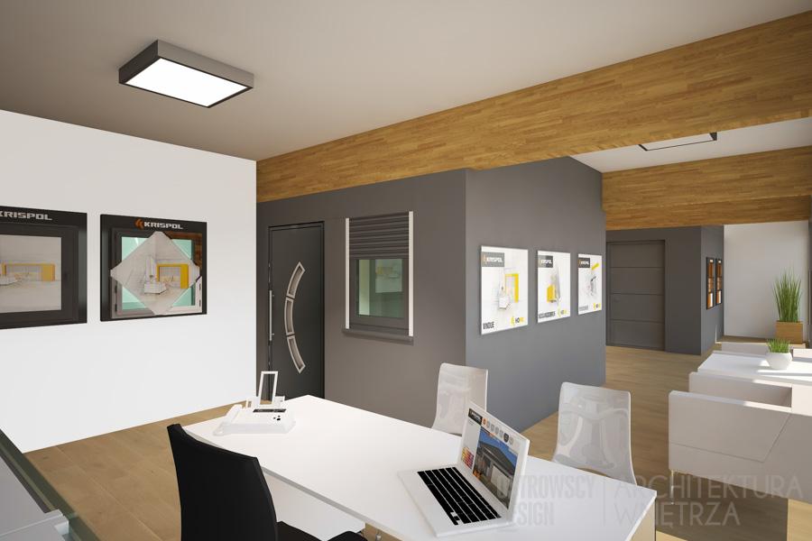 projekt wnętrz salon sprzedaży krispol sweden projekt 11