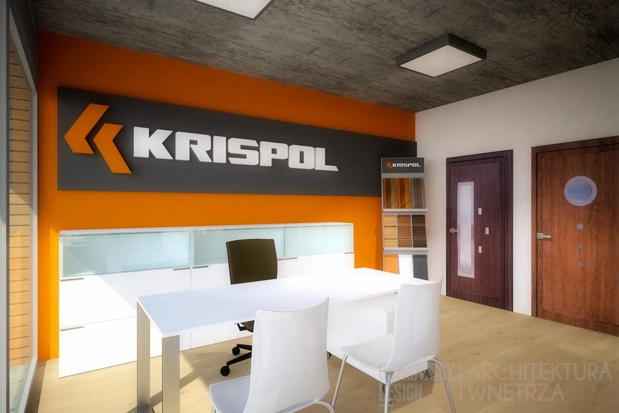 projekt wnętrz salon sprzedaży krispol sweden projekt 2