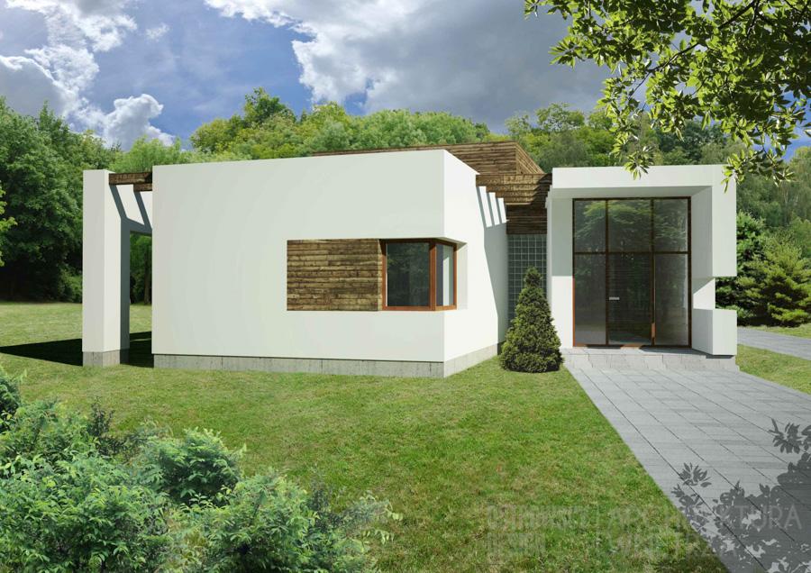 architektura dom jednorodzinny swarzędz projekt architektury 1