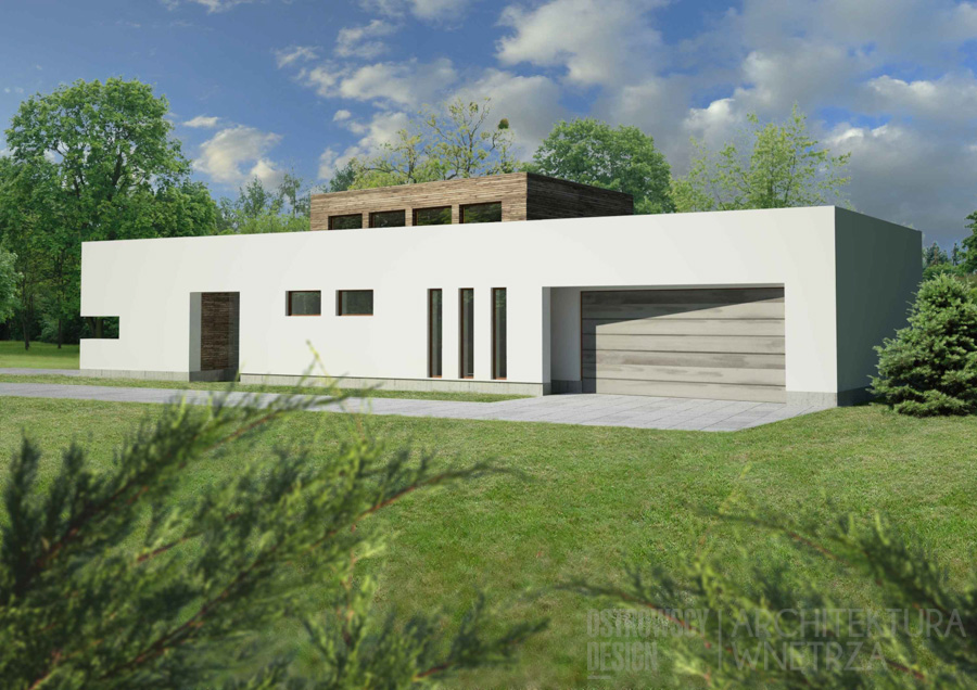 architektura dom jednorodzinny swarzędz projekt architektury 2