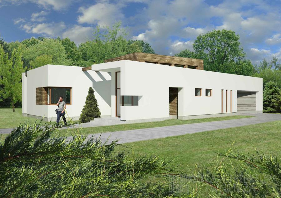 architektura dom jednorodzinny swarzędz projekt architektury 3