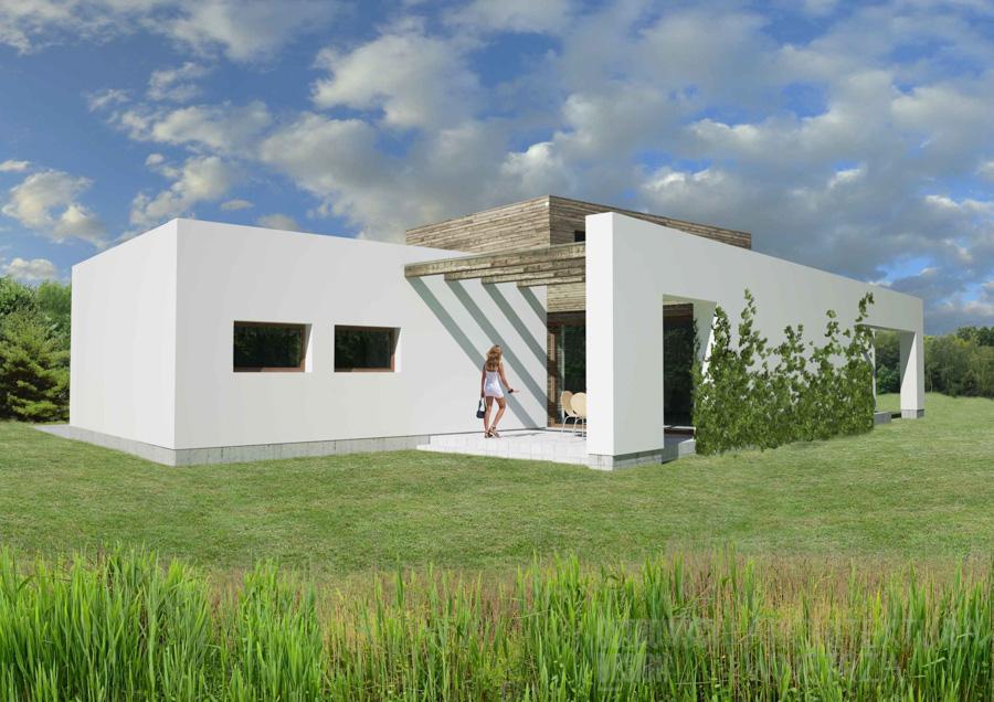 architektura dom jednorodzinny swarzędz projekt architektury 4