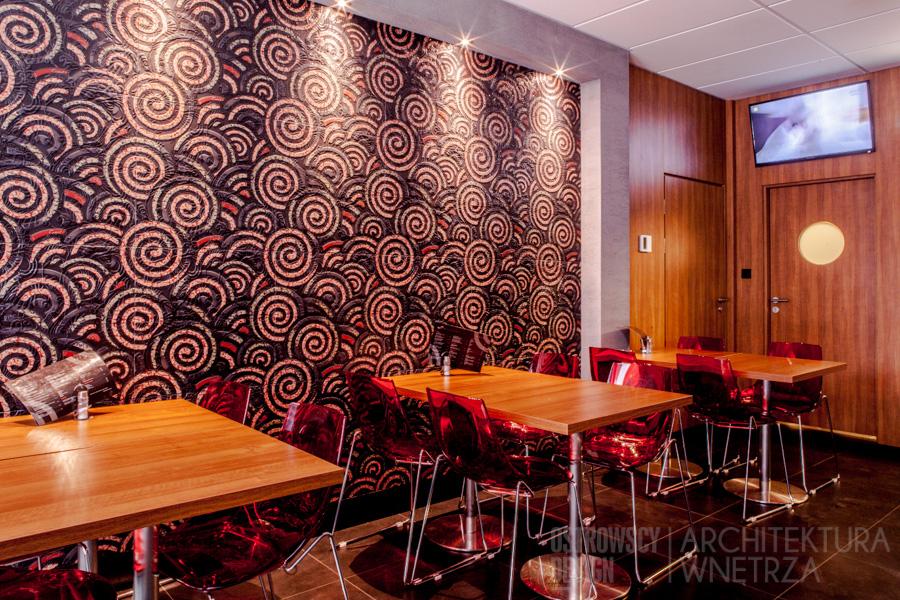 projekt wnętrz restauracja barbarossa realizacja Poznań 2