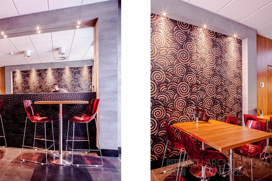 projekt wnętrz restauracja barbarossa realizacja Poznań podwójne 2