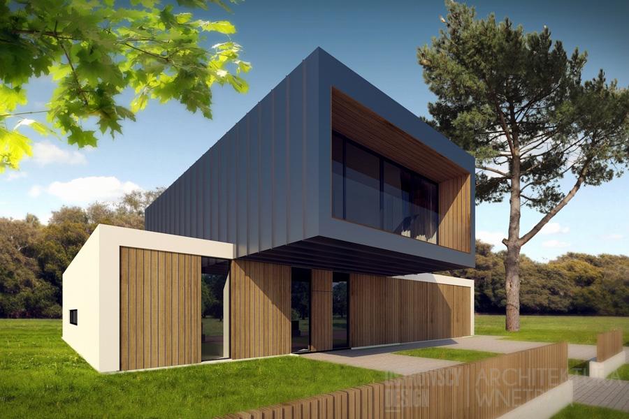 architektura dom jednorodzinny suchy las 1