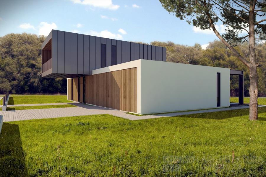 architektura dom jednorodzinny suchy las 3