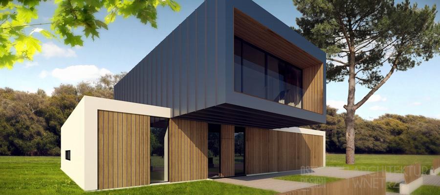 architektura dom jednorodzinny suchy las