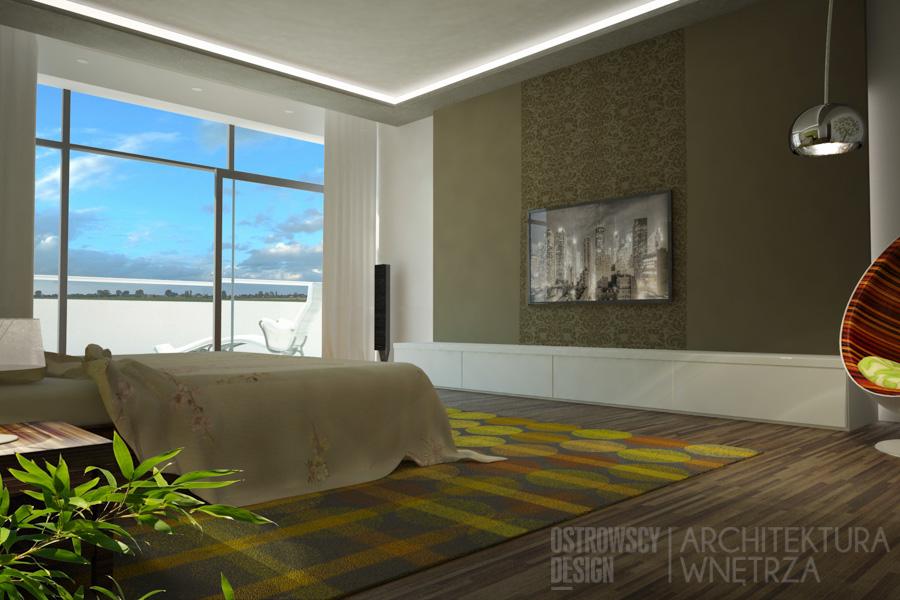 projekt wnętrz pokój hotelowy gorzów wielkopolski projekt 2