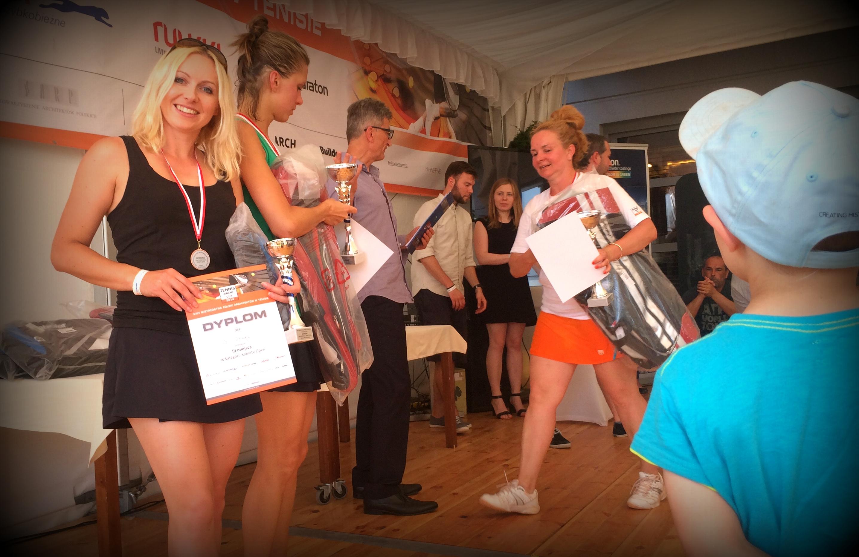 Wygrana w Mistrzostwach Polski TENNIS ARCHI CUP 2014