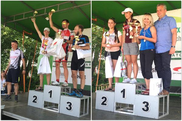 Zwycięskie Mistrzostwa Polski MTB ARCHI CUP 2014